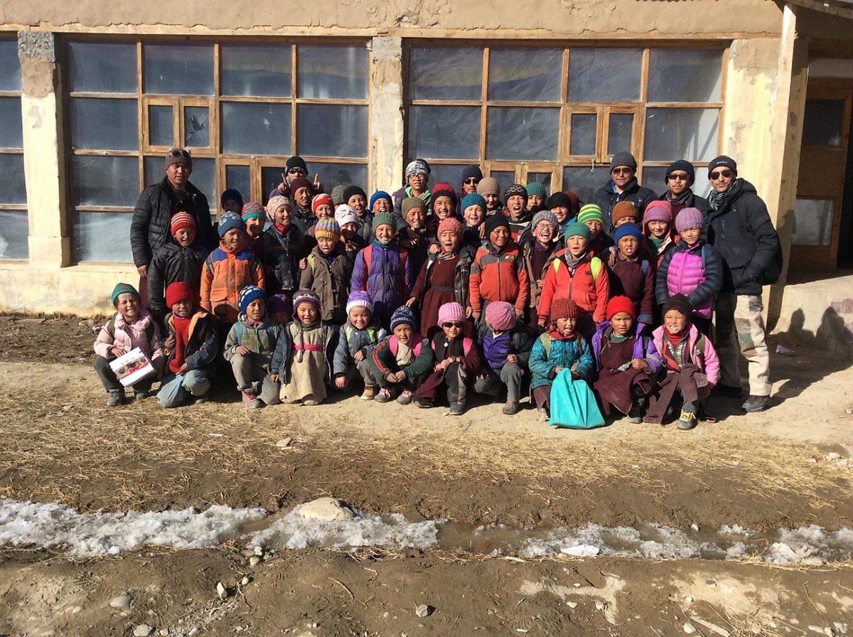 Aktuelle Bilder aus Sani von der Winterschule 2018/2019